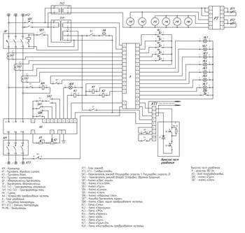 Электрическая схема ПРЧ-40М